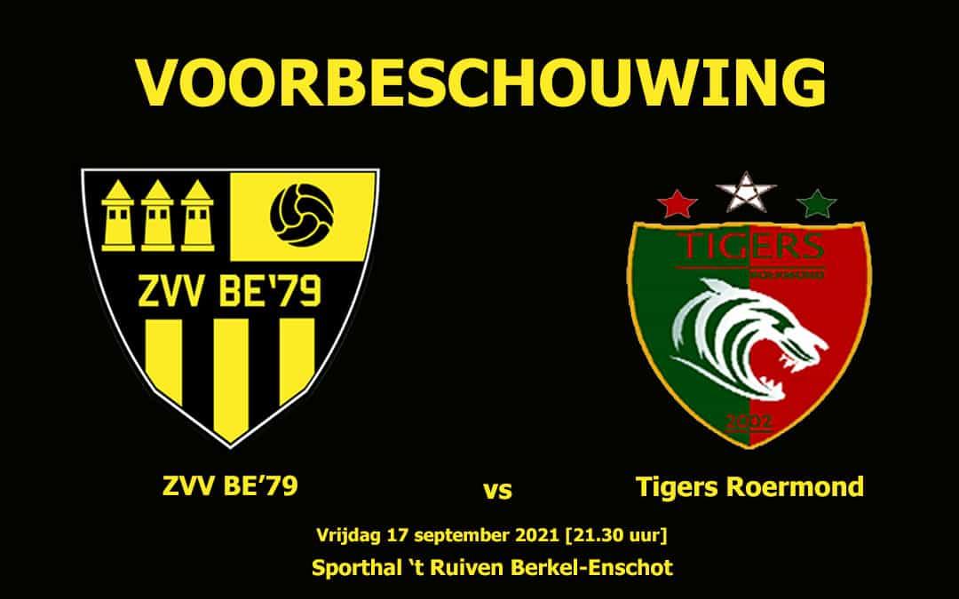 Voorbeschouwing: ZVV BE'79 vs Tigers Roermond