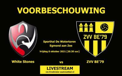 Voorbeschouwing: White Stones vs ZVV BE'79