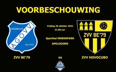 Voorbeschouwing: AGOVV vs ZVV BE'79
